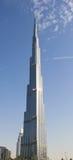 Burj Khalifa Dubai de V.A.E stock afbeelding