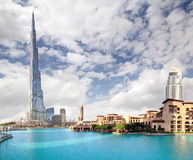 Burj khalifa, Dubai Stock Photo