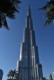 Burj Khalifa Dubai Mall, Doubai Stock Foto's