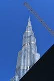 Burj Khalifa Dubai Mall, Dubaï Photo stock