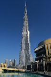 Burj Khalifa Dubai Mall, Dubai stockbilder