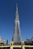 Burj Khalifa Dubai Mall, Dubai stockfoto