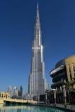 Burj Khalifa Dubai Mall, Dubai Stock Images