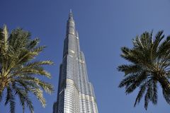 Burj Khalifa, Dubai Royalty Free Stock Photo