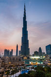Burj Khalifa in Dubai Royalty Free Stock Image