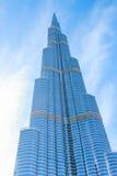 Burj Khalifa Dubai's iconic Royalty Free Stock Photo