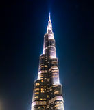 Burj Khalifa in Dubai Stock Image