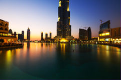 Burj Khalifa Dubai  tallest building in the world Stock Photos