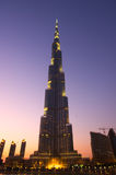 Burj Khalifa Dubai  tallest building in the world Stock Photo