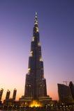 Burj Khalifa Dubai  tallest building in the world Stock Photo