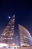 Burj Khalifa Dubai  tallest building in the world Royalty Free Stock Photography