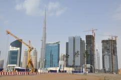 Burj Khalifa in Dubai, UAE Stock Photography
