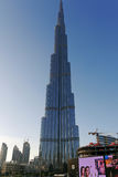 Burj Khalifa in Dubai UAE Stockfoto
