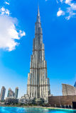 The Burj Khalifa, Dubai, UAE Stock Photo