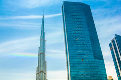 The Burj Khalifa Stock Image