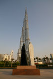 Burj Khalifa in Dubai, United Arab Emirates Stock Photos