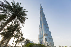 Burj Khalifa in Dubai Stock Photos