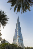 Burj Khalifa in Dubai Stock Photography