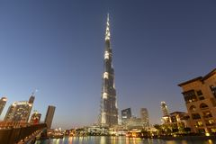 Burj Khalifa Stock Photos