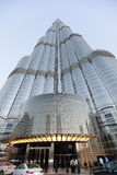 Burj khalifa, dubai - worlds tallest building Stock Images