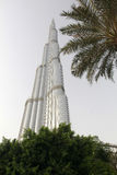 Burj khalifa, dubai - worlds tallest building Royalty Free Stock Photo