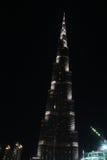 Burj Khalifa el edificio más alto del mundo Fotos de archivo libres de regalías