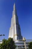 Burj Khalifa en het hotel van het Adres stock fotografie