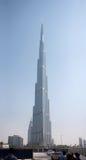 Burj Khalifa, fra le costruzioni più alte dei mondi Fotografia Stock Libera da Diritti
