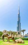 Burj Khalifa Gebäude Lizenzfreie Stockfotos