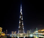 Burj khalifa, the highest building Stock Photography