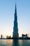 Burj Khalifa ist der höchste Wolkenkratzer in der Welt Lizenzfreie Stockfotografie