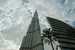 Burj Khalifa (Khalifa tower), Dubai Stock Photo