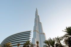 Burj Khalifa (Khalifa tower), known as Burj Dubai Stock Photos