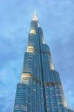 Burj Khalifa la nuit images libres de droits