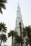 Burj Khalifa nel Dubai, arabo unito Enirates Fotografia Stock