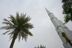 Burj Khalifa nel Dubai, arabo unito Enirates Fotografie Stock