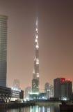 Burj Khalifa at night. Dubai Royalty Free Stock Image