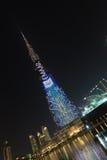 Burj Khalifa, o arranha-céus o mais alto do ` s do mundo, Dubai, Emiratos Árabes Unidos Foto de Stock