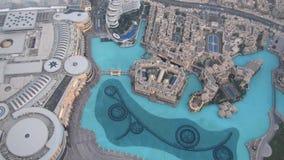 Burj Khalifa observationsdäcket Arkivfoto
