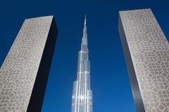 Burj Khalifa skycrapers Stock Image