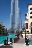 The Burj Khalifa skyscraper Royalty Free Stock Photography