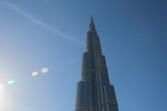 Burj Khalifa Royalty Free Stock Photos