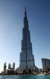 Burj Khalifa tallest building in UAE Stock Photos