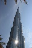 Burj Khalifa - Dubai - tallest building Royalty Free Stock Photography
