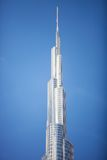 Burj Khalifa, the tallest building in the world Royalty Free Stock Photos