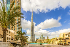 Burj Khalifa Royalty Free Stock Photo