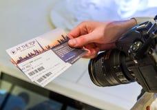 Burj Khalifa Tickets Immagine Stock