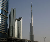 Burj Khalifa (torre) de Khalifa, Dubai Foto de Stock Royalty Free