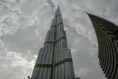 Burj Khalifa (torre) de Khalifa, Dubai Imagens de Stock