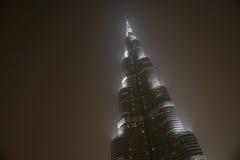 Burj Khalifa (torre) di Khalifa, Dubai Immagini Stock Libere da Diritti